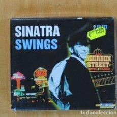 CDs de Música: FRANK SINATRA - SWINGS - 2 CD. Lote 115854379