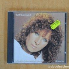 CDs de Música: BARBRA STREISAND - MEMORIES - CD. Lote 115860043