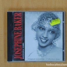 CDs de Música: JOSEPHINE BAKER - BANANA GIRL - CD. Lote 115861747