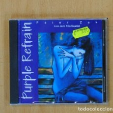 CDs de Música: PETER ZAK - PURPLE REFRAIN - CD. Lote 115865564