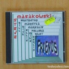 CDs de Música: STEVE MASAKOUSKI - FRIENDS - CD. Lote 115865858