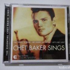 CDs de Música: CD - CHET BAKER SINGS - THE ESSENTIAL. Lote 115959535