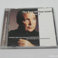 CDs de Música: CD - TOM JONES - THE BEST OF TOM JONES - VOLUME 2 - 2000. Lote 115989263