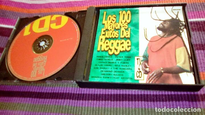 LOS 100 MAYORES ÉXITOS DEL REGGAE. 4 CD'S 1998. ORIGINALES BOB MARLEY + PETER TOSH + THIRD WORLD (Música - CD's Reggae)