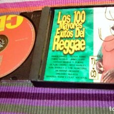 CDs de Música: LOS 100 MAYORES ÉXITOS DEL REGGAE. 4 CD'S 1998. ORIGINALES BOB MARLEY + PETER TOSH + THIRD WORLD. Lote 116056939