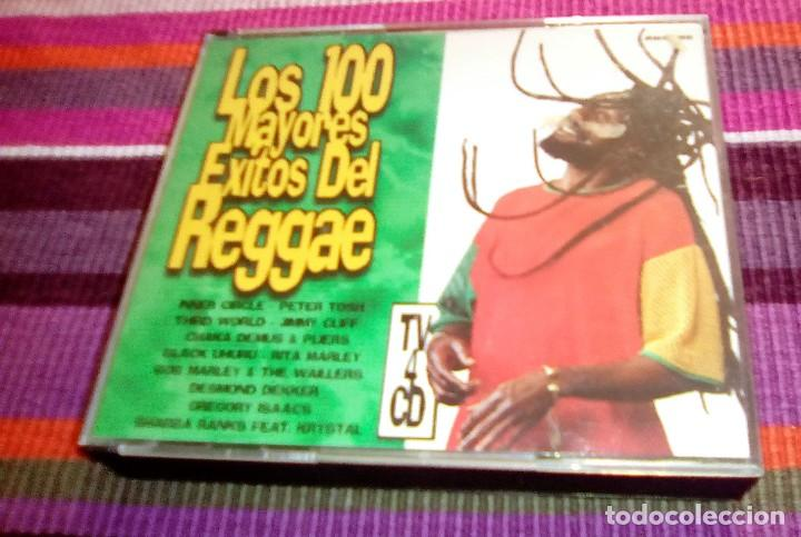 CDs de Música: los 100 mayores éxitos del reggae. 4 cd's 1998. originales BOB MARLEY + PETER TOSH + THIRD WORLD - Foto 2 - 116056939