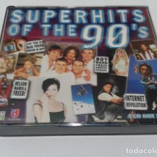 CDs de Música: CD VARIOS ( SUPERHIT OF THE 90 ´S ) 1998 L&D 4 CDS - 64 CANCIONES. Lote 116084111
