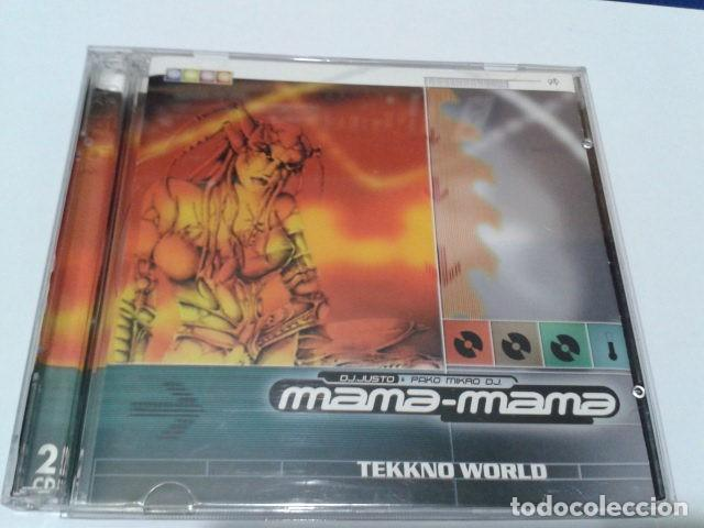 CD DOBLE (DJ. JUSTO & PAKO MIKRO DJ. – MANA-MANA TEKKNO WORLD ) 1998 PINK RECORDS - HARD TRANCE, (Música - CD's Disco y Dance)