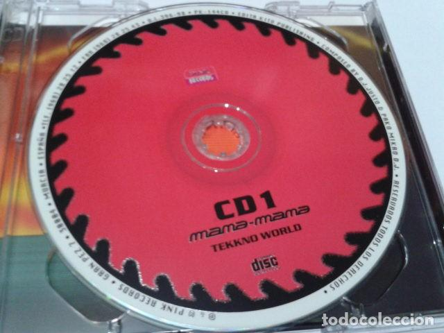 CDs de Música: CD DOBLE (DJ. Justo & Pako Mikro DJ. – Mana-Mana Tekkno World ) 1998 PINK RECORDS - Hard Trance, - Foto 3 - 116088319