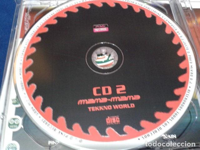 CDs de Música: CD DOBLE (DJ. Justo & Pako Mikro DJ. – Mana-Mana Tekkno World ) 1998 PINK RECORDS - Hard Trance, - Foto 4 - 116088319
