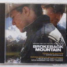 CDs de Música: BROKEBACK MOUNTAIN - CD . Lote 116150247