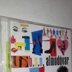 CDs de Música: B.S.O ALMODOVAR CD DOBLE EXITOS DE PELICULAS. Lote 116159427