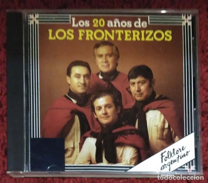 LOS FRONTERIZOS (LOS 20 AÑOS DE LOS FRONTERIZOS) CD 1990 (Música - CD's Latina)