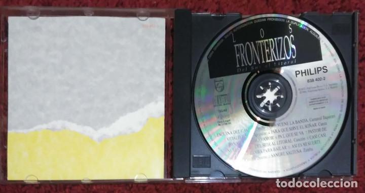 CDs de Música: LOS FRONTERIZOS (DEL SUR AL LITORAL) CD 1995 - Foto 3 - 116161479