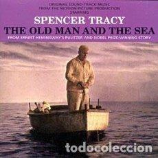 CDs de Música: EL VIEJO Y EL MAR - THE OLD MAN AND THE SEA MÚSICA COMPUESTA POR DIMITRI TIOMKIN DESCATALOGADO. Lote 116163495