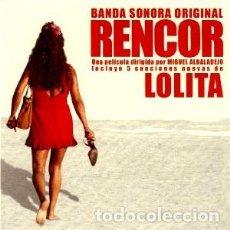 CDs de Música: RENCOR MÚSICA COMPUESTA POR LUCIO GODOY + CANCIONES DE LOLITA. Lote 116163659