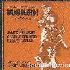CDs de Música: BANDOLERO! MÚSICA COMPUESTA POR JERRY GOLDSMITH DESCATALOGADO. Lote 116169175