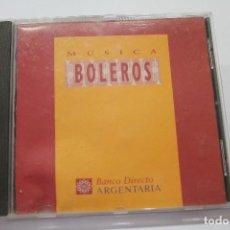 CDs de Música: CD MUSICA BOLEROS BANCO DIRECTO ARGENTARIA. Lote 116172499