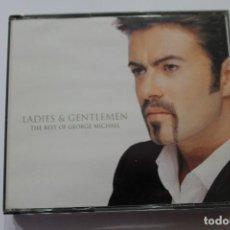 CDs de Música: CD GEORGE MICHAEL LADIES & GENTLEMEN DOBLE CD. Lote 116173607
