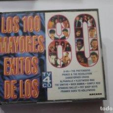 CDs de Música: CD LOS 100 MAYORES EXITOS DE LOS 80 4 CD. Lote 116174611