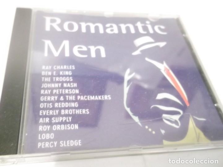 CD - ROMANTIC MEN - 12 TEMAS (Música - CD's Melódica )