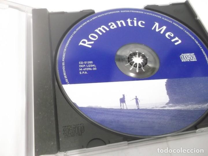 CDs de Música: CD - ROMANTIC MEN - 12 TEMAS - Foto 3 - 116177527