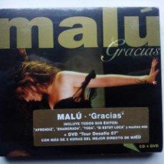 CDs de Música: MALÚ. GRACIAS. CD+DVD SONY BMG 88697207272. ESPAÑA 2007. DIRECTO PALACIO VISTALEGRE DE CÓRDOBA.. Lote 116178539