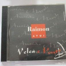 CDs de Música: CD RAIMON VELES AL VENT. Lote 116188579