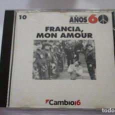 CDs de Música: CD FRANCIA MON AMOUR. Lote 116189451