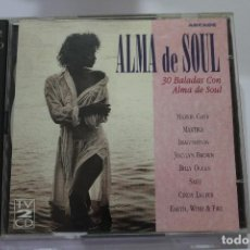 CDs de Música: CD ALMA DE SOUL 30 BALADAS CON ALMA DE SOUL DOBLE CD. Lote 116190083