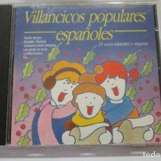 CDs de Música: CD VILLANCICOS POPULARES ESPAÑOLES . Lote 116190375