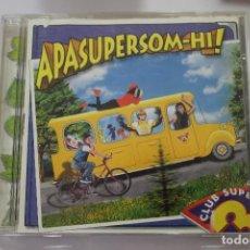 CDs de Música: CD CLUB SUPER 3 APASUPERSOM-HI. Lote 171898754