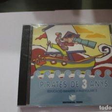 CDs de Música: CD PIRATES DE 3 ANYS PARVULARI 3 EDITORIAL TEIDE EN CATALAN NUEVO PRECINTADO. Lote 116229359