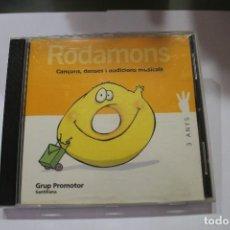 CDs de Música: CD RODAMONS 3 ANYS GRUP PROMOTOR SANTILLANA EN CATALAN. Lote 116229651
