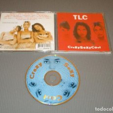 CDs de Música: TLC ( CRAZYSEXYCOOL ) - CD - 73008-26009-2 - LAFACE RECORDS - TAKE OUR TIME - SWITCH - CREEP .... Lote 116256787