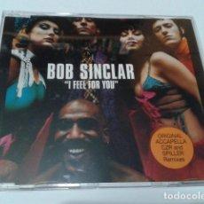 CDs de Música: CD PROMO BOB SINCLAR ( I FEEL FOR YOU ) 2000 BLANCO Y NEGRO 7 CANCIONES - VENCDS 293. Lote 116269635