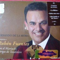 CDs de Música: FERNANDO DE LA MORA CON MARIACHI INTERPRETA A RUBEN FUENTES...MEXICO..PRECINTADO. Lote 116271183