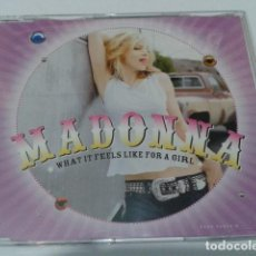 CDs de Música: CD MADONNA ( WHAT IT FEELS LIKE FOR A GIRL) 4 CANCIONES. Lote 116282743