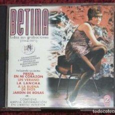 CDs de Música: RAMALAMA - BETINA (TODAS SUS GRABACIONES 1964 - 1971) 2 CD'S 2001. Lote 116292763