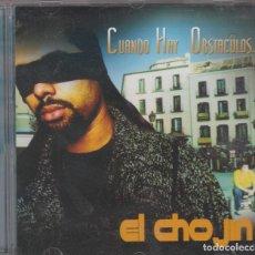 CDs de Música: EL CHOJÍN CD CUANDO HAY OBSTÁCULOS 2002. Lote 116381547