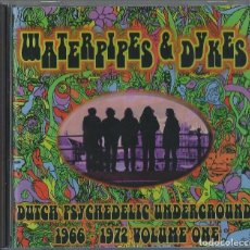 CDs de Música: VARIOUS ARTISTS CD WATERPIPES & DYKES-DUTCH 60S-70S PSYCH/GARAGE *(ATENCION COMPRA MINIMA 15 EUR). Lote 116392479