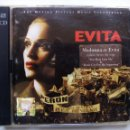 CDs de Música: EVITA. THE MOTION PICTURE MUSIC SOUNDTRACK. CD DOBLE WARNER BROS. EU 1996. MADONNA. ANTONIO BANDERAS. Lote 116452823