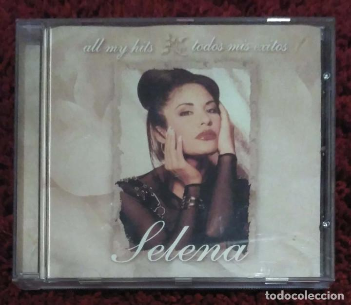 SELENA (ALL MY HITS - TODOS MIS EXITOS) CD 1999 (Música - CD's Latina)
