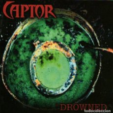 CDs de Música: CAPTOR - DROWNED - CD ALBUM - 12 TRACKS - DIEHARD MUSIC 1996. Lote 116549671