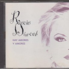 CDs de Música: ROCÍO DÚRCAL CD HAY AMORES Y AMORES 1995 BMG MÉXICO. Lote 116556183