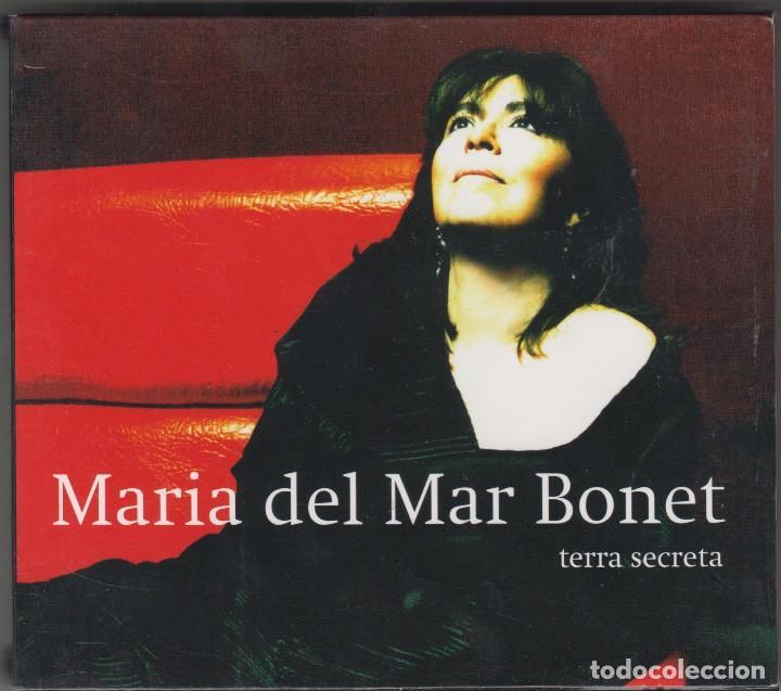 MARIA DEL MAR BONET CD TERRA SECRETA 2007 (Música - CD's Otros Estilos)