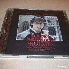 CDs de Música: BRUCE BROUGHTON. EL SECRETO DE LA PIRAMIDE. YOUNG SHERLOCK HOLMES. 2 CD´S. EDICIÓN LIMITADA.72 TEMAS. Lote 116562675