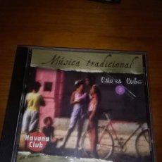 CDs de Música: MÚSICA TRADICIONAL ESTO ES CUBA. 5. B9CD. Lote 116574359