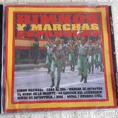 CDs de Música: CD HIMNOS Y MARCHAS ESPAÑOLAS. Lote 116678563