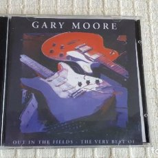 CDs de Música: 2 CD´S - GARY MOORE - OUT IN THE FIELDS - THE VERY BEST. Lote 116681243